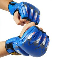 Wholesale MMA Grappling Fight Sparring Kick Boxing Training Gloves