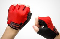Wholesale 2015 hot sale Bike Cycling Gloves Men s Motorcycle Half Finger Bicycle Gloves L M XL Size