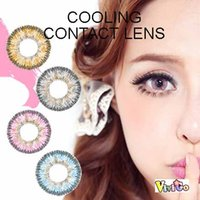 Wholesale new arrival popular design tone color lens COOLING soft contact lenses colors for choice