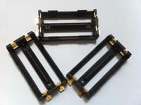 battery holder manufacturers - keystone manufacturer battery sled holder e cig battery box mod component dual SM battery holder