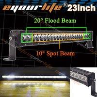 Wholesale Eyourlife INCH W spot flood combo work driving led light lamp bar Offroad SUVor Offroad SUV ATV