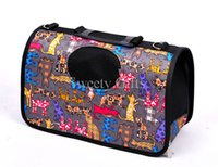 animal crates - High Quality Oxford Nylon Water Proof Pet Back Packing Animal Pattern Dog Pet Bags