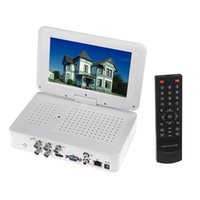 Wholesale Mini NVR Zmodo System Recorder quot LCD Monitor Support HDMI G P2P Cloud Channel Full D1 H All in one CCTV DVR Embedded