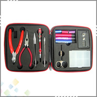 accessories professional tools - Coil Master Tool Kit DIY Kit For RDA RBA RTA RDTA Atomizer Professional DIY Tool Bag Coiling Kit E Cig Accessories DHL Free