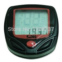 Wholesale Stylish New SD B Bike Bicycle Cycling Computer LCD Odometer Speedometer Nr Y1039 dt9iPP