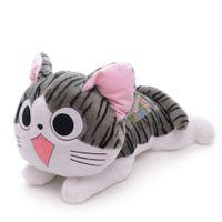 big cat collection - Lying Cartoon Big Eye Chi s Cat Plush Collection Home Decor Dolls Stuffed Animal Toys16 New LN