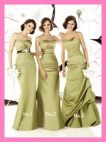 Cheap Wholesale 2015 Formal Stain Bridesmaid Dresses Gowns For Teens Young Girls 2014 Appliques Sweetheart Bridesmaid Party Evening Prom Dress
