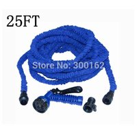 Wholesale 25 FT expandable BLUE Garden water Hose with High quality