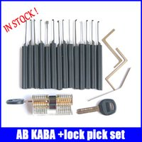 best combination locks - Best price AB kaba transparent lock with lock for doors top quality combination set practical lock