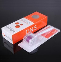 Wholesale DHL DNS Needels Stainless steel Mezo Roller Mezoroller Skin Lifting Face Care Roller Derma Meso Mezoroller