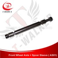 axle sleeve - High Quality mm Electric Scooter Wheel Axle with Spacer Sleeve T Walker Scooter Parts