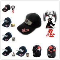 Cheap NEW design baseball caps Naruto Caps snapback hats 16 different designs Hip-hop cap hat Free Shipping LA119-1