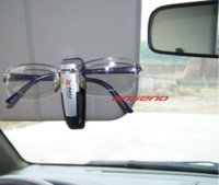 auto paper folder - High quality Model with glasses clip auto paper folder car glasses folder M48143