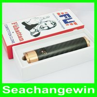 Wholesale Fuhattan Mod Machanical Mods Clone USA Manhattan mod Carbon Fiber Fuhattan Magnet Bottom e Cig for Battery