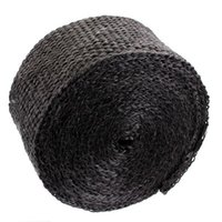 Wholesale 2x17inch Black Exhaust Manifold Header Downpipe Heat Wrap Front Pipe F cmx5m