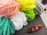 balls width - 10mm Width Pom Pom Trim Ball Fringe Ribbon DIY Sewing Accessory Lace yards D2y