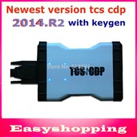 Cheap DHL Free shipping!! Newest V2014.2 Keygen TCS CDP SCANNER White color CDP PRO PLUS LED no Bluetooth for CAR+TRUCK+Generic 3 in1