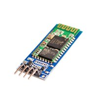 Wholesale Wireless Serial Pass Through Communication Pin Bluetooth RF Transceiver Module HC HC06 RS232 TTL UART With Backplane for Arduino