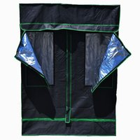 Wholesale 57 quot x quot x quot Mylar Hydroponic Grow Tent Box Room Greenhouse System with window x cm