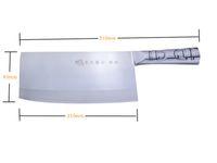 Wholesale YangJiang knife Kitchen stainless steel chopper Steel handle knife