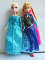 Wholesale 30CM Frozen frozen ice princess Elsa Anna Adventure Queen Barbie dolls