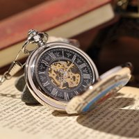 american pocket watch - American Emblem Men Army Pocket Watch With Chain Silver Necklace Cool Vine Antique Casual Luxury Gift Pocket Watch