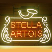 belgian blue - 17 quot x14 quot Stella Artois Belgian Lager design Real Glass Neon Light Signs Bar Pub Restaurant Billiards Shops Display Signboards