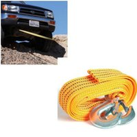 tow hitches - 13 Feet T Tow Cable Towing Pull Rope Snatch Strap Heavy Duty Road Recovery Car Truck tow hook trailer hitch corda rope tow