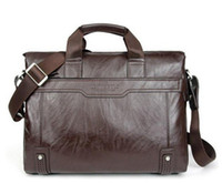 Wholesale Hot sale New Genuine Leather Men Bag Briefcase Handbag Men Shoulder Bag Laptop Bag