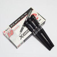 Acheter Signe d'enregistrement-12pcs Gel stylo Conférence enregistrée Pointe grossière 1.0mm Stylo de signature Encre noire Bureau d'apprentissage de papeterie
