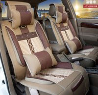 leather seat cover - Factory direct ice silk car seat leather car seat covers car mats a generation of fat Recruitment Agency