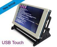 b control module - USB Touch Control inch TFT LCD Display Module for Raspberry Pi B B Banana Pi Beaglebone Black Pidora Raspbian linux XBMC