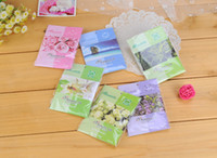 Wholesale sachet bags air freshener Freeshipping A variety of Natural aroma scented sachet fragrance for home Car