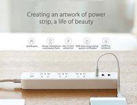 electrical outlets - Original Xiaomi Power strip Outlet Standard USB Powerstrip Extension Socket Plug Multi purpose Smart Strip Home powerstrip