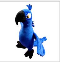 animal families video - Rio the Movie Blu Jewel Carla Bia Tiago Family Birds Plush Toy Stuffed Animal BLUE PARROTS For Boys Girls Baby plush toys