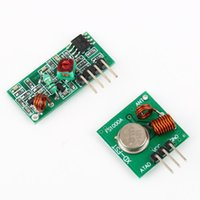 remote control ic - Set Link Kit Wireless RF Transmitter and Receiver Module for Arduino ARM MCU Remote Control DropShipping
