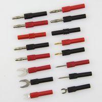 banana plug adaptor - mm mm Banana plug socket adaptor converter test measument adaptor set kit