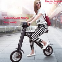 eec electric scooter - Instead Walking Foldable Electric Bicycle km Mini Two Wheel Scooter Portable Folding Electric Scooter With V AH Lithium Battery