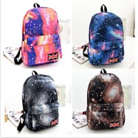Wholesale The new GALAXY collection shoulder bag men and women backpack schoolbag College Wind lady s backpack HOT