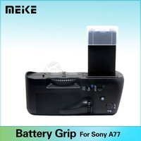 Battery Grip alpha camera - Meike Professional Vertical Battery Grip for Sony Alpha SLT A77 A77V as VG C77AM