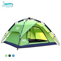 Wholesale Desert Fox automatic outdoor tent camping tent camping double than double the anti rain SMZH