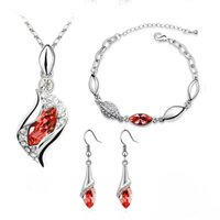 absolute charm - Hot Absolute Luxury Unique Charming Jewelry Sets Earrings Necklaces Pendants Bracelets For Women shamballa set
