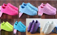 Wholesale Hot sell fashion Men and women superstar Pharrell Williams Supercolor Couples sneaker top quality supercolor sports shos