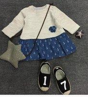 american intimates - 2016 girls dress New winter cotton imitation shag intimate long sleeved dress BH1644