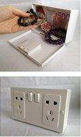 Wholesale Money Bank Coin Funny Creative Socket Shaped Money Box Secret Safe Camouflage Storage Box