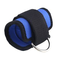 Wholesale Ankle Strap D ring Thigh Leg Pulley Gym Lifting Multi Cable Attachment Shock absorbent Adjustable New