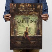 anna karenina - Anna Karenina Large Vintage Retro Paper Poster Gifts Poster Map Wall Sticker Wallpaper Art Posters cm quot x14 quot