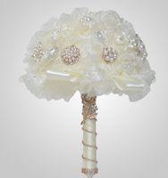 bulk yarn - All yarn high end pearl hand bouquet diy bride bouquet wedding supplies