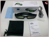 Wholesale 3d dlp link glasses d active shutter glasses for dlp link projector optoma shutter glasses shutter d glasses