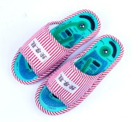 massage slippers - Health care wonem and men s massage shoes home magnetic Taichi acupuncture foot massage slipper